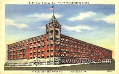 J.B. Van Sciver Co. - Lancaster, Pennsylvania PA Postcard