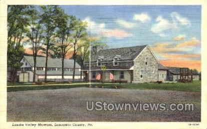 Landis Valley Museum - Lancaster, Pennsylvania PA Postcard