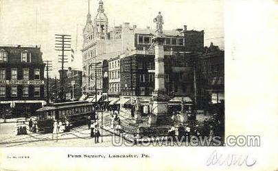 Penn Square - Lancaster, Pennsylvania PA Postcard