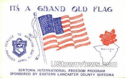 Sertoma International Program - Lancaster, Pennsylvania PA Postcard