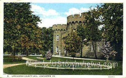 Lancaster County Jail - Pennsylvania PA Postcard