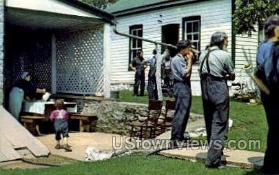 Workers, Dutch Meal - Lancaster, Pennsylvania PA Postcard