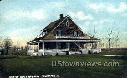 Country Club, Rossmere - Lancaster, Pennsylvania PA Postcard