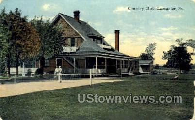 Country Club, Lancaster - Pennsylvania PA Postcard
