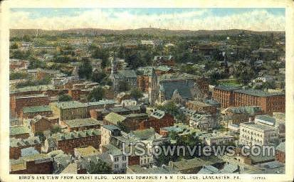 Greist Bldg., F. & M. College - Lancaster, Pennsylvania PA Postcard
