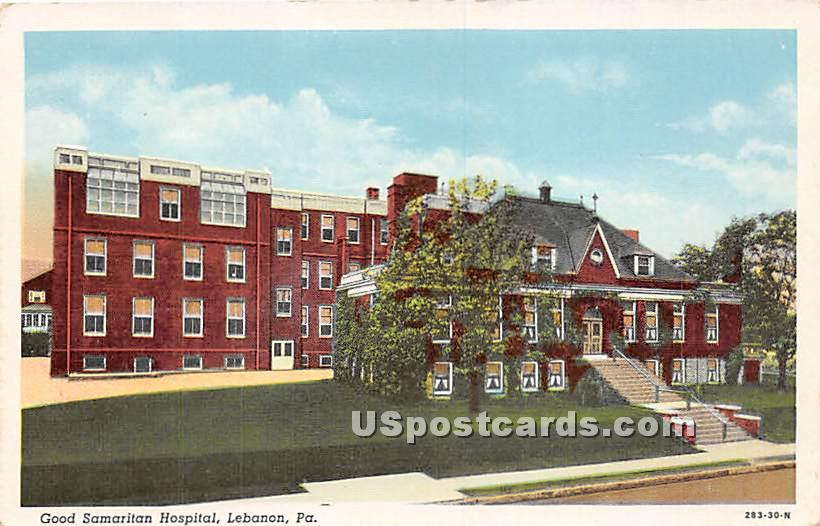 Good Samaritan Hospital - Lebanon, Pennsylvania PA Postcard