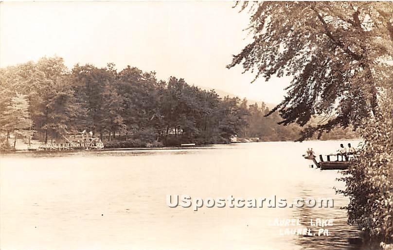Laurel Lake - Pennsylvania PA Postcard
