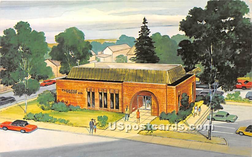 Myerstown Office Farmers Trust Company - Lebanon, Pennsylvania PA Postcard