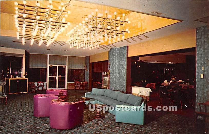 Lebanon Treadway Inn Lobby - Pennsylvania PA Postcard