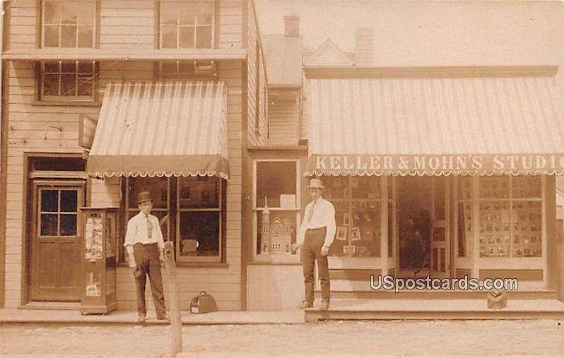 Keller & Mohn's Studio - Lebanon, Pennsylvania PA Postcard