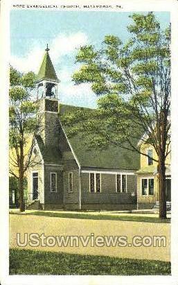 Hope Evangelical Church - Matamoras, Pennsylvania PA Postcard