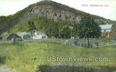 Cliffs, Matamoras - Pennsylvania PA Postcard