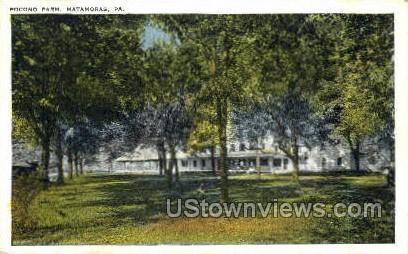 Pocono Farm - Matamoras, Pennsylvania PA Postcard