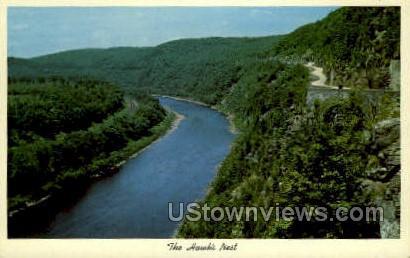 Hawk's Nest - Matamoras, Pennsylvania PA Postcard