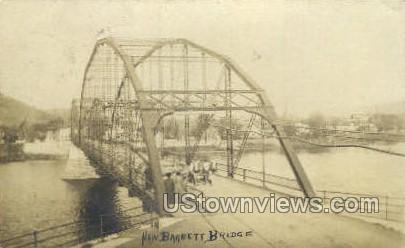 New Barrett Bridge - Matamoras, Pennsylvania PA Postcard