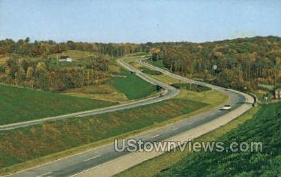 Interstate 80 - Misc, Pennsylvania PA Postcard