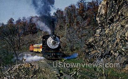 Historic Everett Railroad - Misc, Pennsylvania PA Postcard