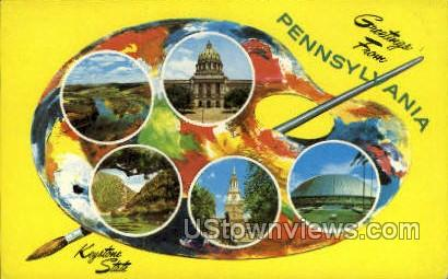 Keystone State - Misc, Pennsylvania PA Postcard