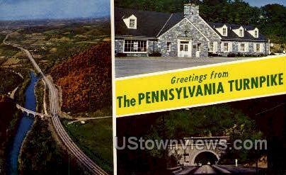 Penn Turnpike - Misc, Pennsylvania PA Postcard