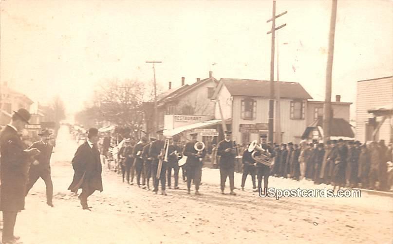Band, Parade - Misc, Pennsylvania PA Postcard
