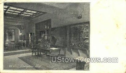 W.B.S. Reception Hall - Misc, Pennsylvania PA Postcard