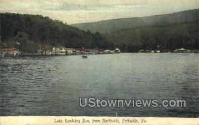 Lake Tumbling Run - Pottsville, Pennsylvania PA Postcard