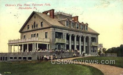 Fairmount Park - Philadelphia, Pennsylvania PA Postcard