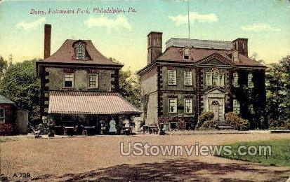 Dairy, Farimount Park - Philadelphia, Pennsylvania PA Postcard