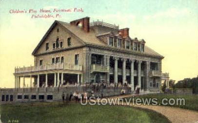 Children's Play House - Philadelphia, Pennsylvania PA Postcard