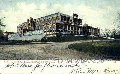 Horticultural Hall, Fairmount Park - Philadelphia, Pennsylvania PA Postcard