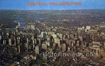 Schuylkill River - Philadelphia, Pennsylvania PA Postcard