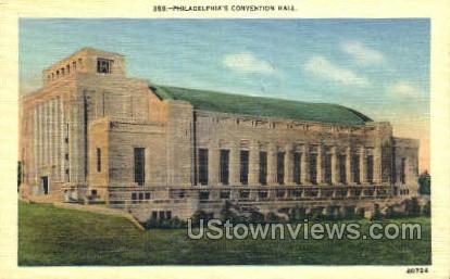 Philadelphia's Convention Hall - Pennsylvania PA Postcard