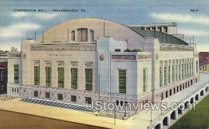 Convention Hall - Philadelphia, Pennsylvania PA Postcard