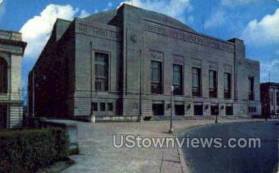 Municipal Aud. Convention Hall - Philadelphia, Pennsylvania PA Postcard