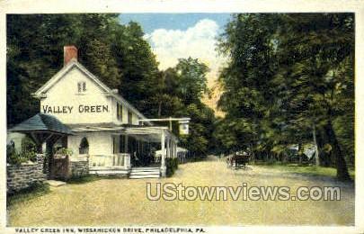 Valley Green Inn - Philadelphia, Pennsylvania PA Postcard