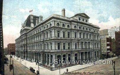 Post Office, Philadelphia - Pennsylvania PA Postcard