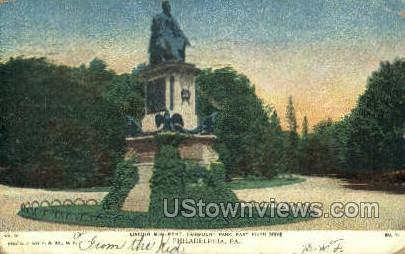 Lincoln Monument - Philadelphia, Pennsylvania PA Postcard