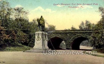 Grant's Monument - Philadelphia, Pennsylvania PA Postcard