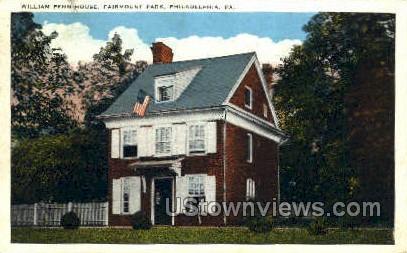 William Penn House - Philadelphia, Pennsylvania PA Postcard