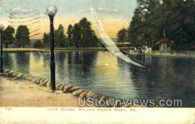 Willow Grove Park - Philadelphia, Pennsylvania PA Postcard