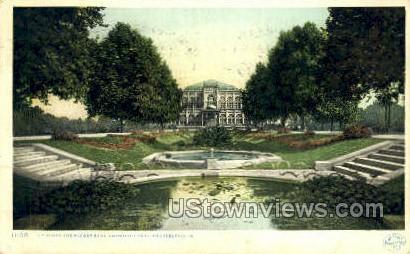 Lily Pond, Fairmount Park - Philadelphia, Pennsylvania PA Postcard