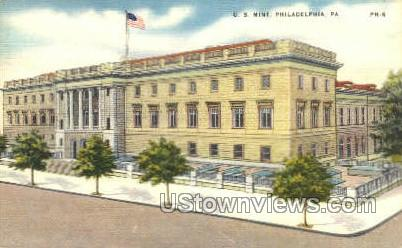 US Mint - Philadelphia, Pennsylvania PA Postcard