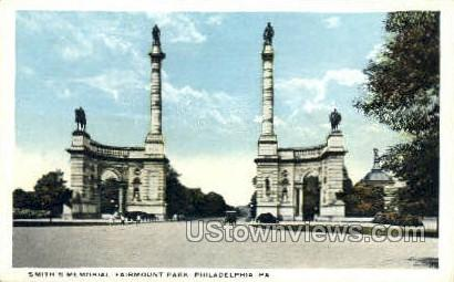 Smith's Memorial, Fairmount Park - Philadelphia, Pennsylvania PA Postcard