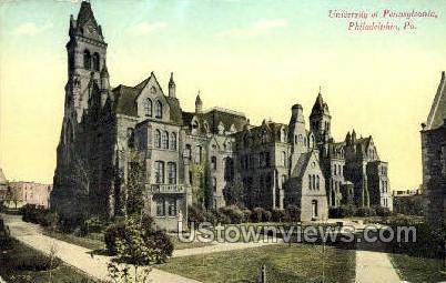 University of Pennsylvania - Philadelphia Postcard