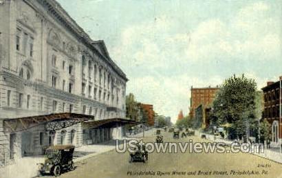 Philadelphia Opera House - Pennsylvania PA Postcard