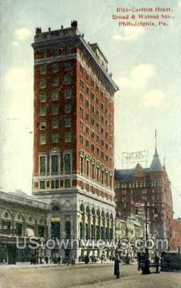 Ritz-Carlton Hotel - Philadelphia, Pennsylvania PA Postcard