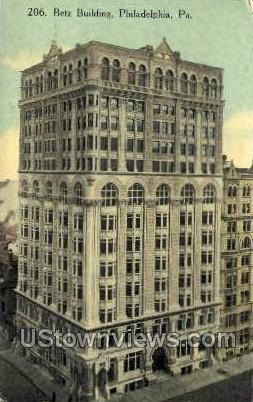 Betz Bldg - Philadelphia, Pennsylvania PA Postcard