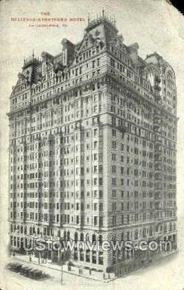 Bellevue-Stratford Hotel - Philadelphia, Pennsylvania PA Postcard