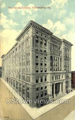 Bourse Bldg - Philadelphia, Pennsylvania PA Postcard