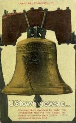 Liberty Bell - Philadelphia, Pennsylvania PA Postcard